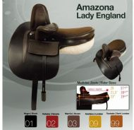 Zaldi Amazon Lady-England side saddle